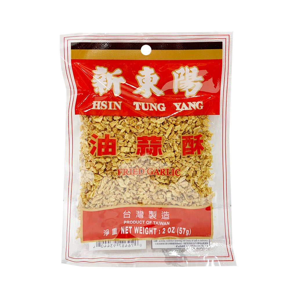 Hsin Tung Yang Fried Garlic 新東陽油蒜酥 2OZ