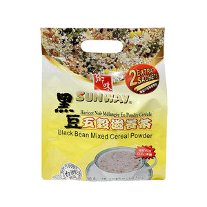 BLK BEAN MIXED CEREAL POWDER 鄉味黑豆五榖滋養茶 12.69OZ