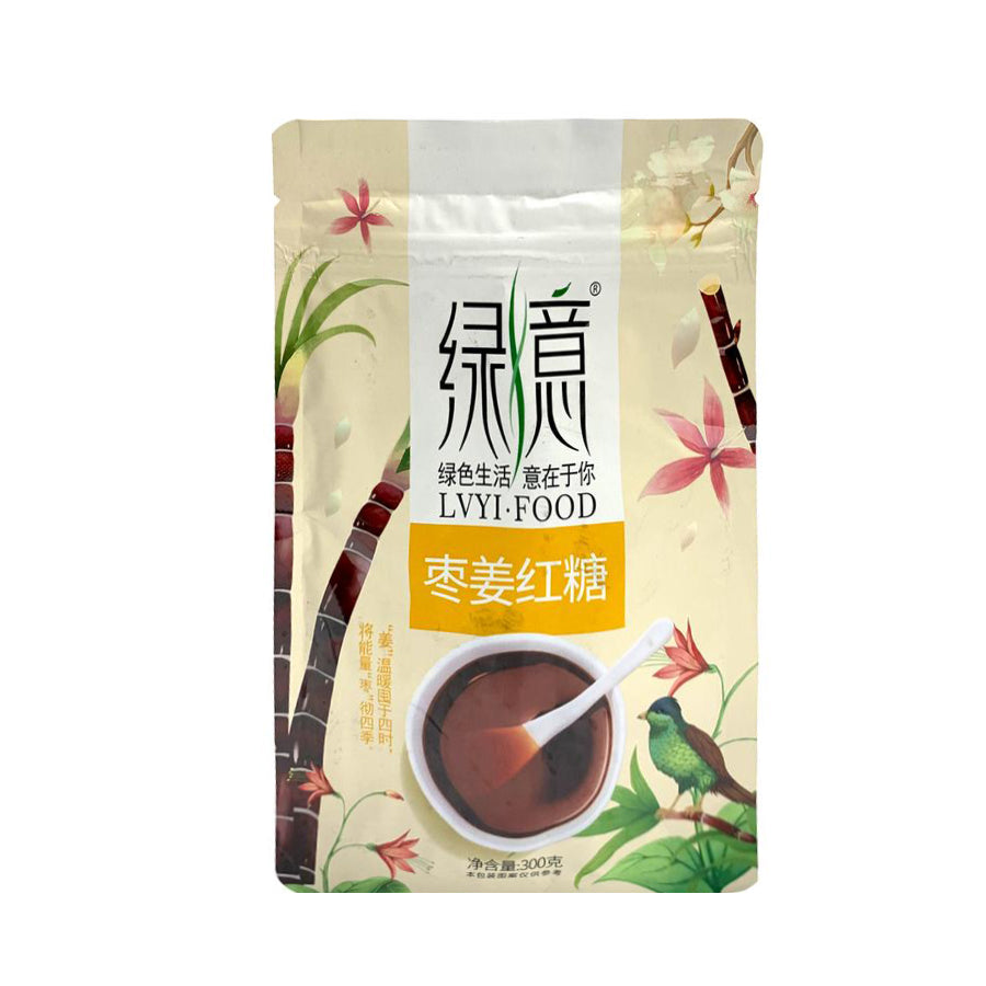 JUJUBE GINGER FLAVOR BROWN SUGAR 棗姜紅糖 2EA