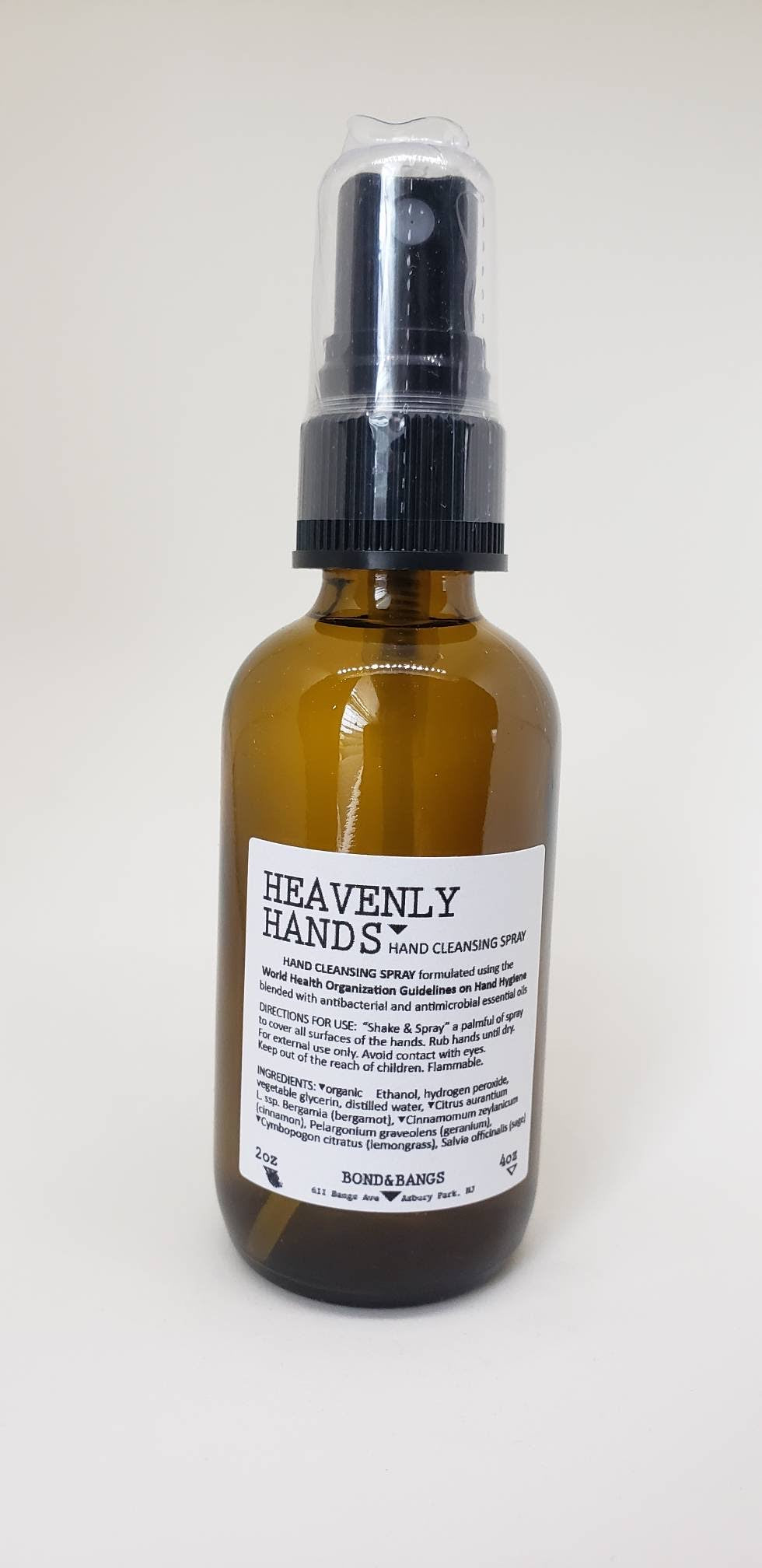 *NEW!* Heavenly Hands hand cleansing spray