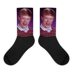 Bad Luck Brian Socks