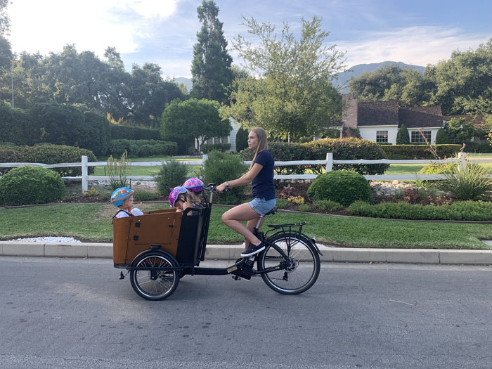 How to Bike with Young Children | Ferla Family - Cargo Bikes