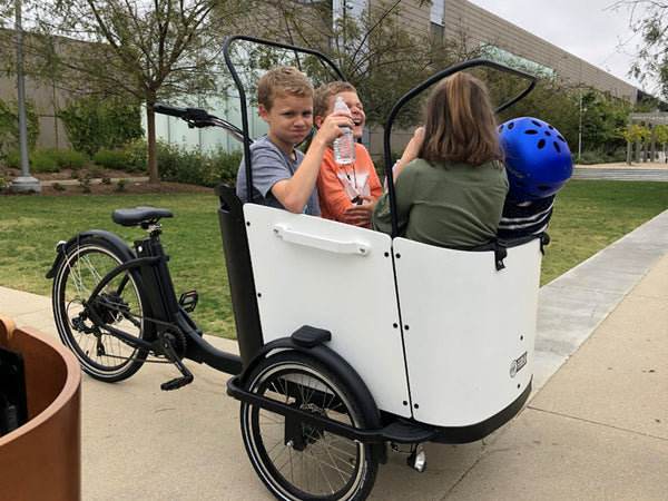More kids in cargo bike