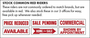 Stock Common Red Riders