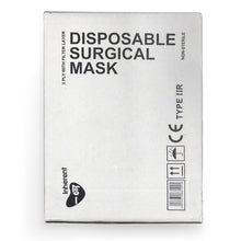 Load image into Gallery viewer, Type IIR Fluid Repellent Surgical Mask, certified to EN14683:2019, Box of 50pcs