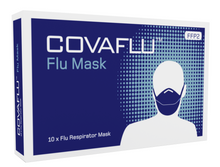 Load image into Gallery viewer, FFP2 (N95) Face Mask - Covaflu, box of 10pcs