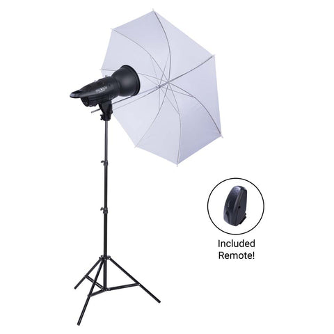 Studio Essentials 200Ws Single-Light Umbrella Kit