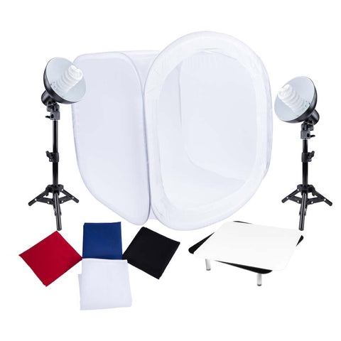 Studio Essentials Table-Top Product Photography Kit