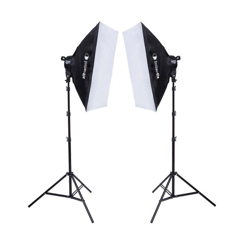 F5 2-Head Fluorescent Lighting Kit