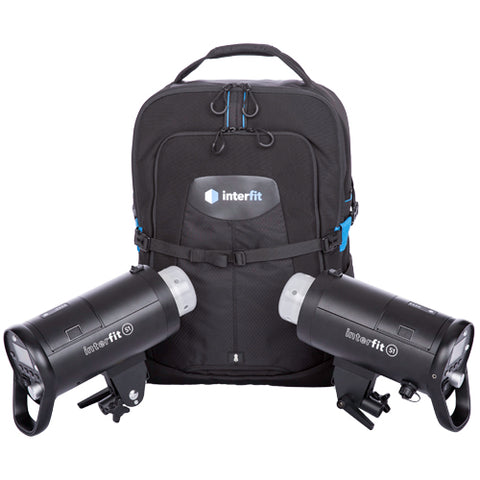 S1 On-Location 2-Light Backpack Kit