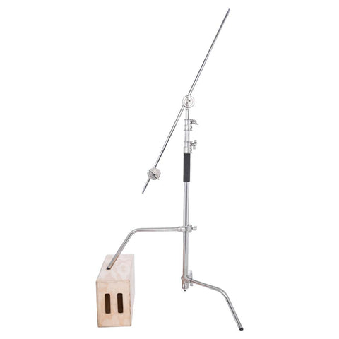 Studio Essentials 10′ C-Stand with 4′ Boom Arm