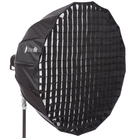 Softbox - Deep Parabolic with Grid - 48""