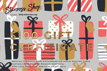 Load image into Gallery viewer, presents theme: $100 Gift Certificate