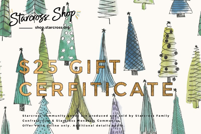 Christmas Trees: $25 Gift Certificate