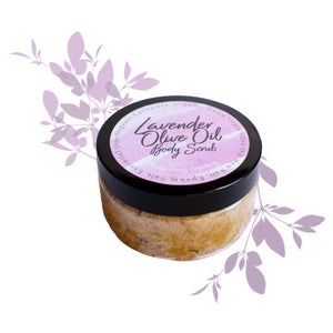 Lavender Olive Oil Body Scrub