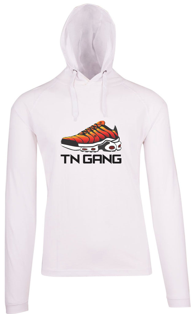 TN Gang Shoe Wht T LS Hood