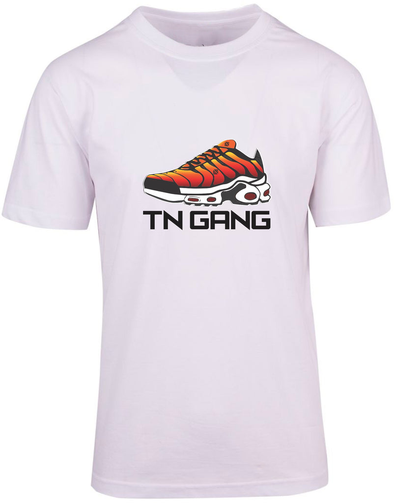 TN Gang Shoe Wht T-shirt