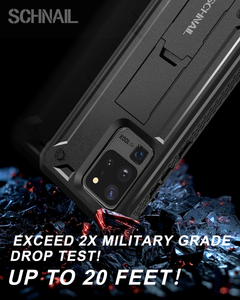 Titan Series For Samsung Galaxy S20 Ultra Case with Kickstand