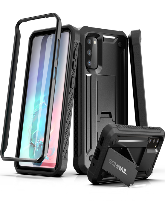 Titan Series Samsung Galaxy S20  Case with Kickstand