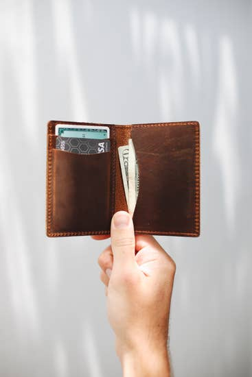 Whisky Wallet (Leather)