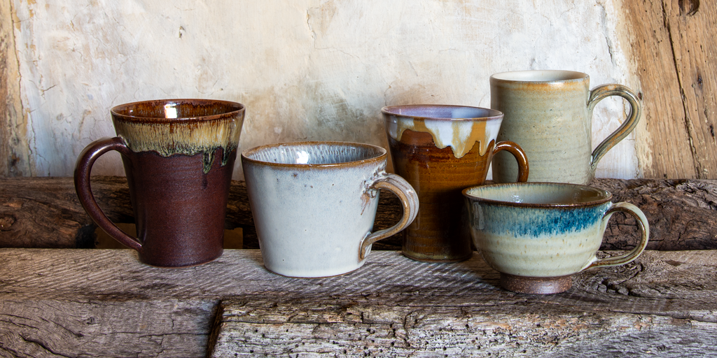 Matt or glossy, rustic or smooth, we have a handmade Japanese mug for you