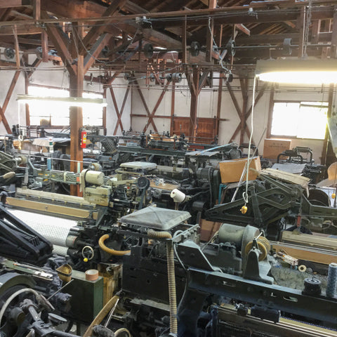 The Kittaka Weaving workshop, traditional early 20th Century Japanese construction