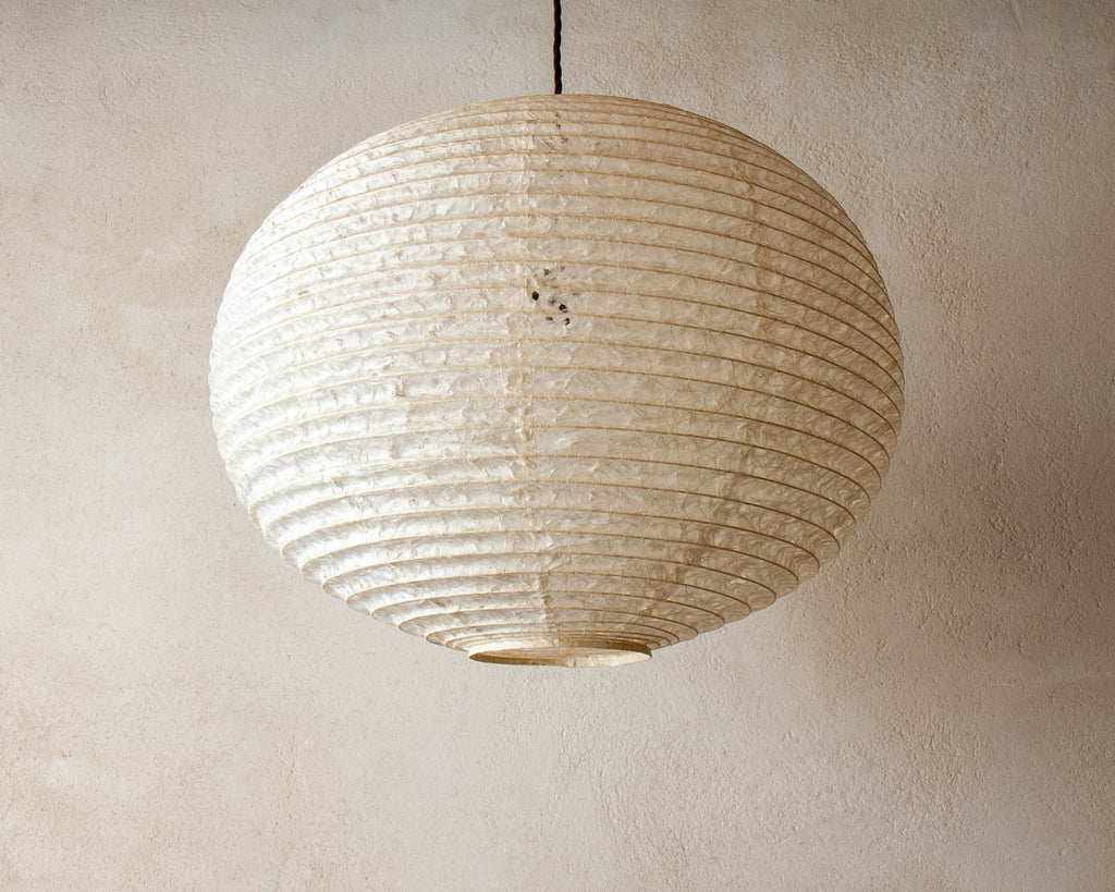 53cm Large Japanese shade made from handmade hemp washi paper