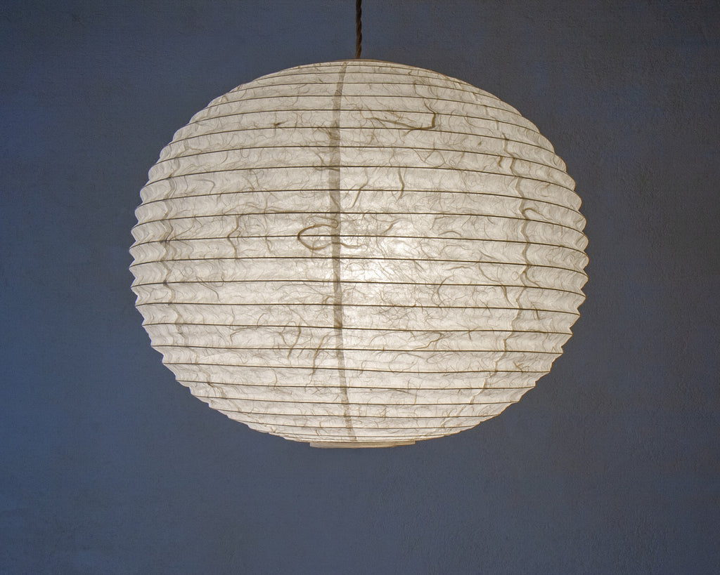 45cm beautiful traditional Japanese paper shade, with white Unryu Paper