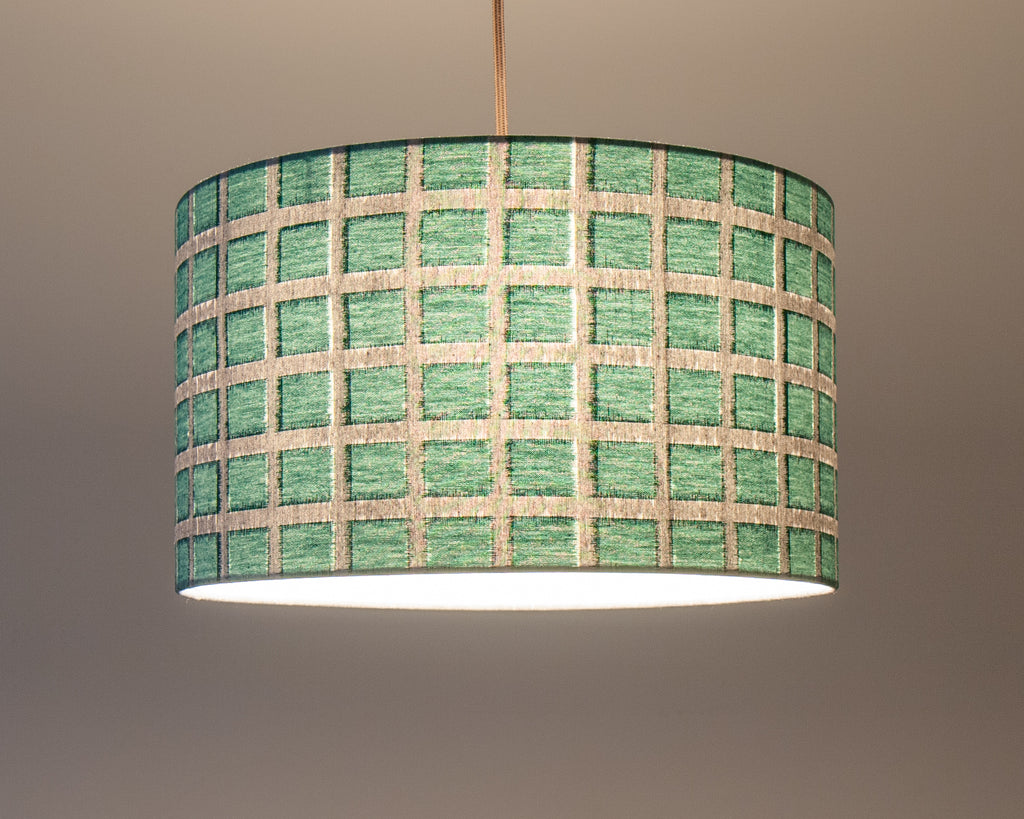 Green Cotton Japanese Pendant Lights