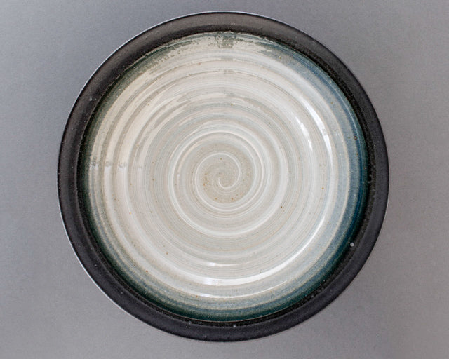 Shirogesho Decorative Bowl, Japanese Pottery - Top