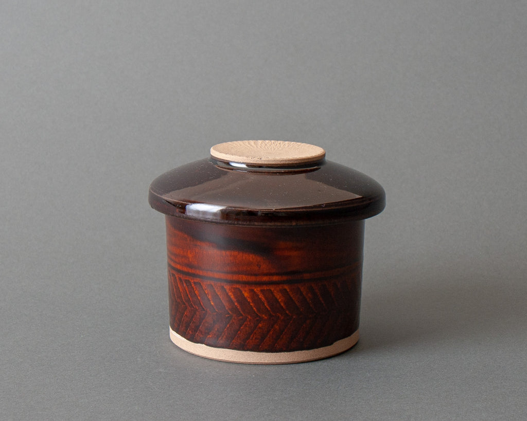 Brown Ohitsu Container