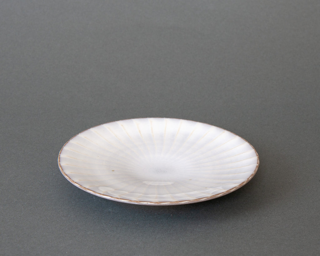 Small Hakeme Plate - White