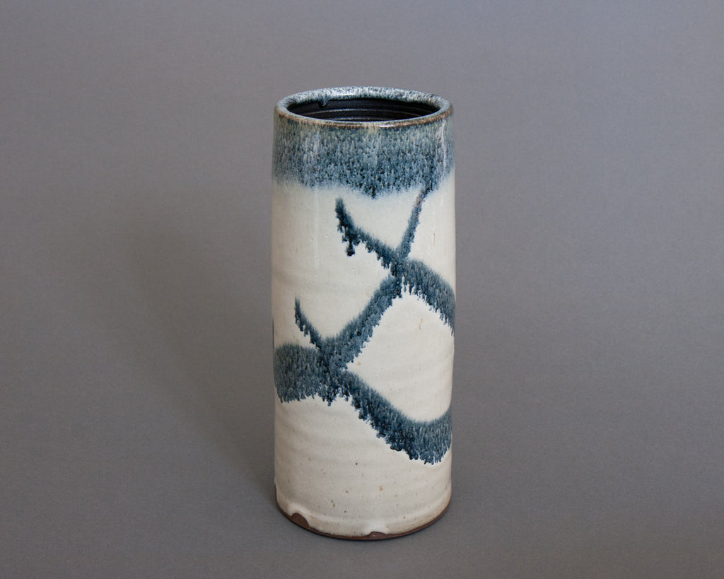 Shakugake Vase Handmade in Japan - side