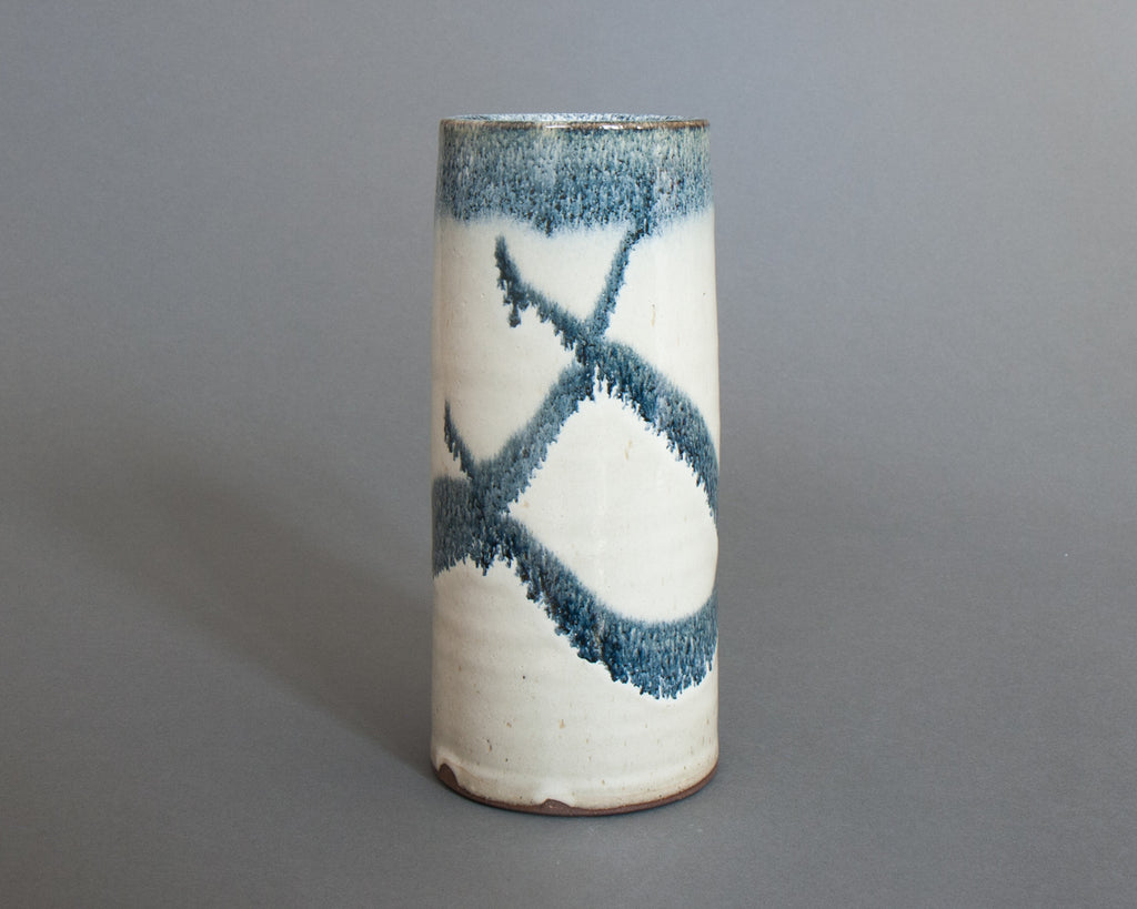 Shakugake Vase Handmade in Japan - straight