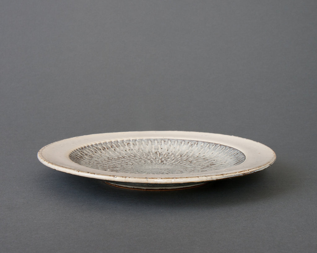 Hakuyu side plate - straight