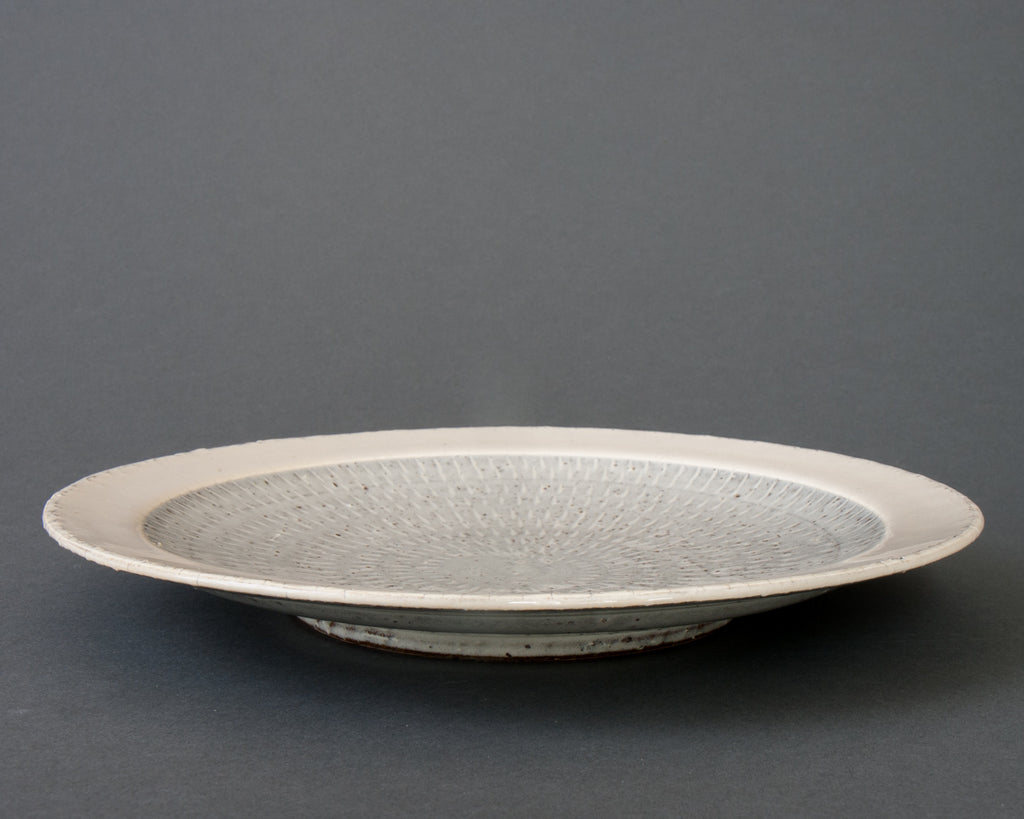 Hakuyu dinner plate - straight