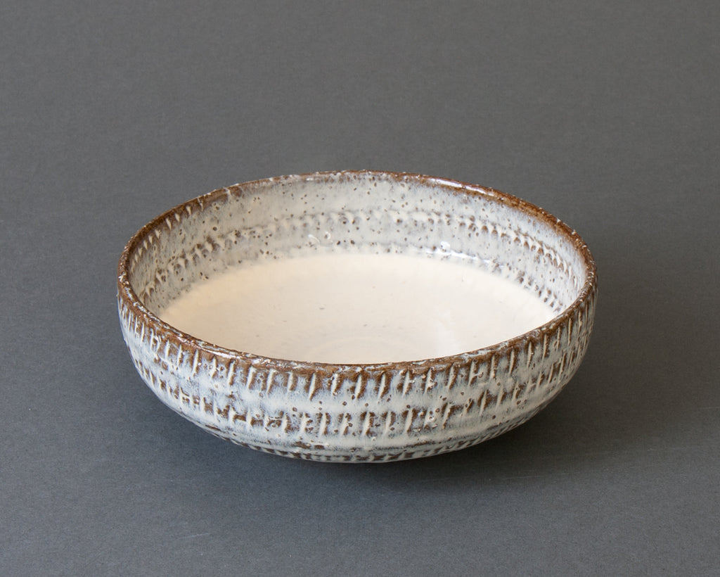 Hakuyu Cereal Bowl Handmade in Japan - Side