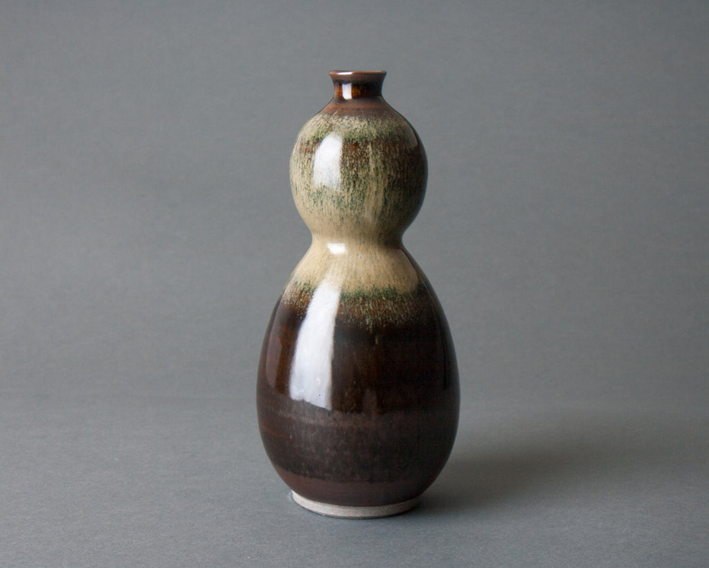 Hyotan Vase Handmade in Japan - Straight