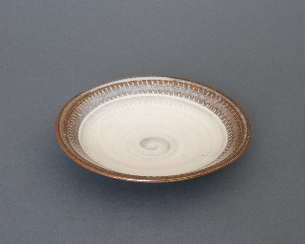 Mentori Saucer Handmade in Japan - Side