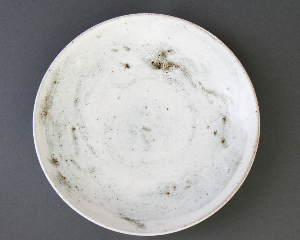 Donten Pasta Plate, hand-thrown stoneware - Top
