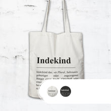 Laden Sie das Bild in den Galerie-Viewer, Shopping Bag Erklärung Indekind