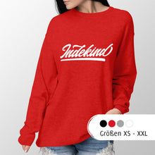 Laden Sie das Bild in den Galerie-Viewer, Sweatshirt Damen Simple Logo