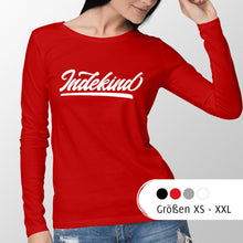 Laden Sie das Bild in den Galerie-Viewer, Longsleeve Damen Simple Logo