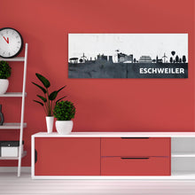 Laden Sie das Bild in den Galerie-Viewer, Wandbild Skyline 80 x 30cm