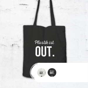 Statement Shopping Bag Plastik ist out