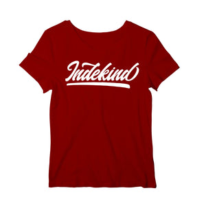 T-Shirt Roundneck Damen Simple Logo