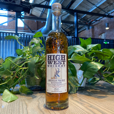 High West Whiskey American Prairie Bourbon