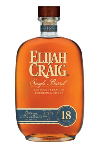 Elijah Craig Single Barrel 18 Year