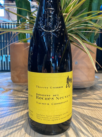 "2019 Domaine Des Roches Thierry Germain ""Nueves"" Saumur Champigny Red Wine"