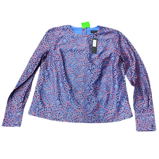 Primary Photo - BRAND: BANANA REPUBLIC STYLE: TOP LONG SLEEVE COLOR: BLUE SIZE: S SKU: 297-29711-27470